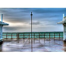 Rainy Redcliffe Pier in HDR Photographic Print