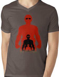 Shrink Shrank Shrunk Mens V-Neck T-Shirt