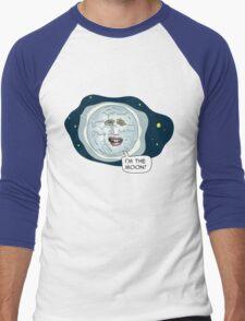 The mighty Boosh - I'm the moon Men's Baseball ¾ T-Shirt