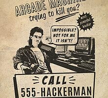 Hackerman arcade machine by pixiedixie