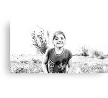 4606. Happy face  Canvas Print