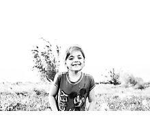4606. Happy face  Photographic Print