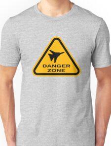 Danger Zone - Triangle Unisex T-Shirt