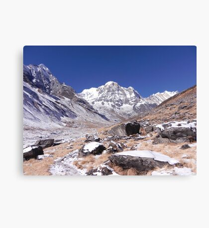 Approaching ABC Canvas Print