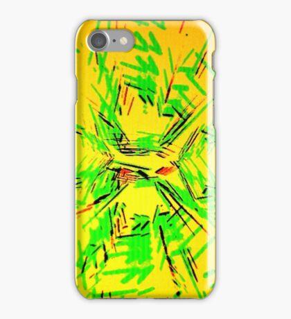 Green Sticks iPhone Case/Skin