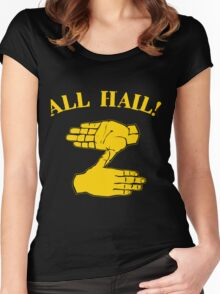 All Hail Zoltan Gold Women's Fitted Scoop T-Shirt