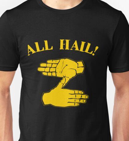 All Hail Zoltan Gold Unisex T-Shirt