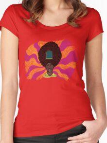 The Mighty Boosh - Rudi van DiSarzio - Rudy - Psychedelic Monk Women's Fitted Scoop T-Shirt