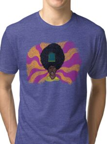 The Mighty Boosh - Rudi van DiSarzio - Rudy - Psychedelic Monk Tri-blend T-Shirt