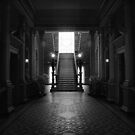 Werribee Mansion - Int IR Stairway by lightsmith