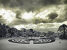 Werribee Mansion - Ext IR The Garden by lightsmith