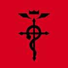 Full Metal Alchemist Flamel Cross Symbol iPhone / iPod Cover by Aaron Campbell