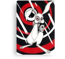 Angry Rabbit Canvas Print