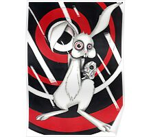 Angry Rabbit Poster