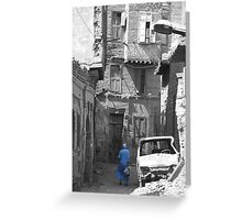 Ali in the Alley Greeting Card