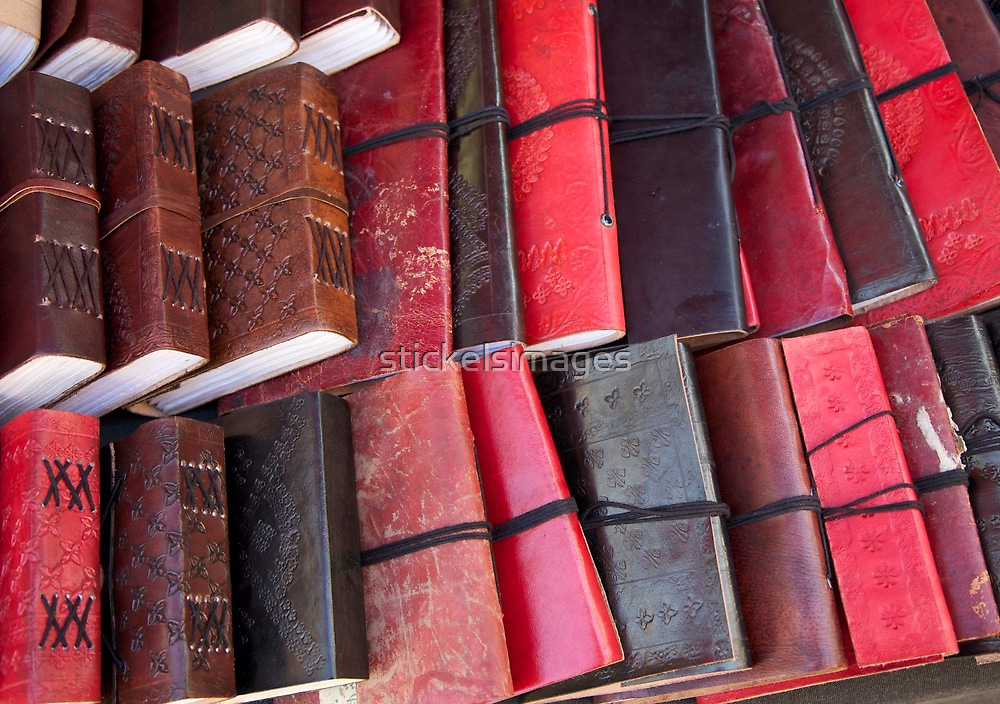 artscapes #80, leather bound by stickelsimages