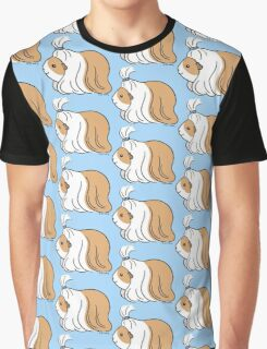Guinea-pig Tail - long haired cavy Graphic T-Shirt