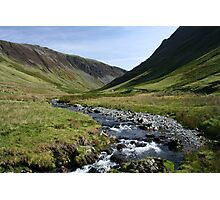 Water Flow through Honister Pass Photographic Print
