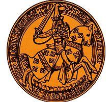 Vintage Shield 1 by mongoliandevil