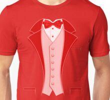 Tuxedo Red Unisex T-Shirt