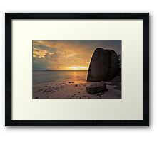 10 Seconds of Peace Framed Print