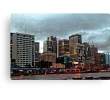 On a Dull Afternoon Canvas Print