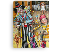 Puppeteers Canvas Print