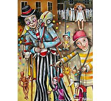 Puppeteers Photographic Print