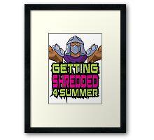 Shredder - Getting Shredded 4 Summer Framed Print