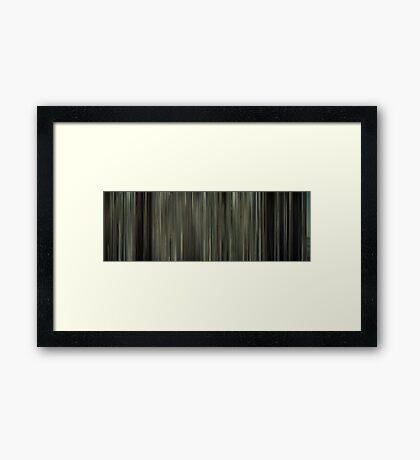 Moviebarcode: Gran Torino (2008) Framed Print