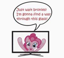 Pinkie Pie Fourth Wall Breach by just4lolzz