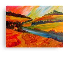 Landscape Composition Canvas Print