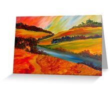 Landscape Composition Greeting Card