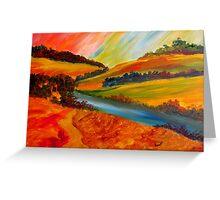 Landscape Composition Greeting Card