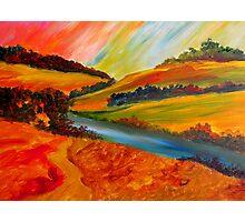 Landscape Composition Photographic Print
