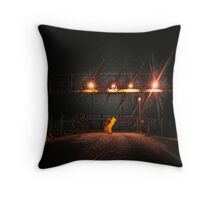 The Gates Throw Pillow