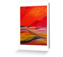 Sundown Colours Greeting Card