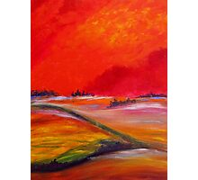 Sundown Colours Photographic Print
