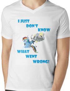 Derpy's gonna Derp - Poor Rainbow Dash Mens V-Neck T-Shirt
