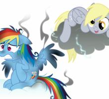 Derpy's gonna Derp - Poor Rainbow Dash Sticker