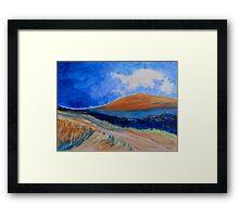The Dirt Road. Framed Print