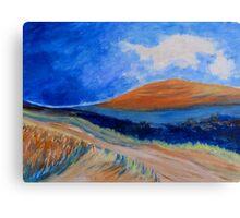 The Dirt Road. Canvas Print