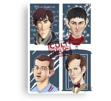 CULT BBC - The Heroes (All in 1) Poster Canvas Print