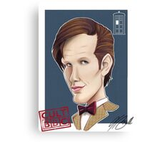 CULT BBC - The DR (Matt Smith) Canvas Print