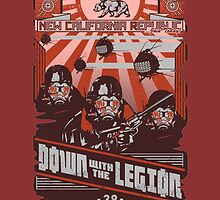 New California Republic - Fallout - Down with the Legion by Palle-e-Pesce