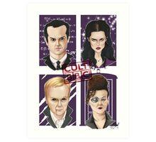 CULT BBC - The Villians Art Print