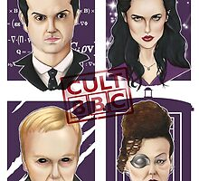 CULT BBC - The Villians by Thomas Birrell