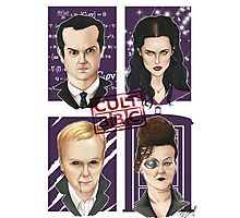 CULT BBC - The Villians Photographic Print