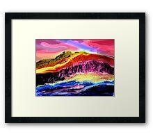 Landscape Composition-1 Framed Print