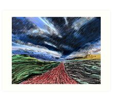Gathering Storm Art Print
